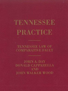 "New Edition of Capparella's ""Tennessee Law of Comparative Fault"" Published"